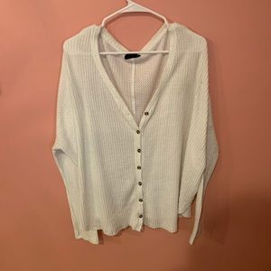 Urban outfitters waffle knit sweater
